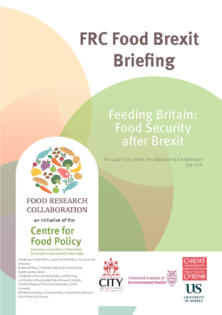 Feeding Britain: Food Security after Brexit – Food Research