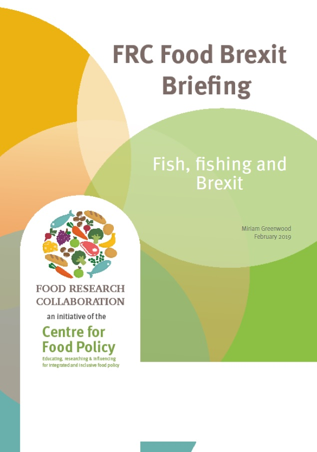 Fish, fishing and Brexit – Food Research Collaboration